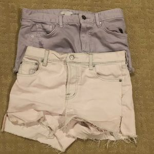 Pastel Denim short 2 pack